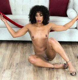 Very fuckable babe Misty Stone shows..